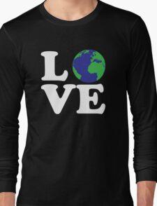 I Love World Long Sleeve T-Shirt