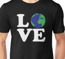 I Love World Unisex T-Shirt