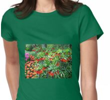Orange Crown Imperials - Quintessentially Keukenhof Womens Fitted T-Shirt