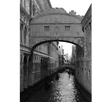 One Fine Day In Venice Photographic Print