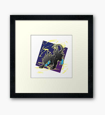 Pokemon - Luxray Framed Print