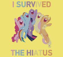 I Survived The Hiatus - MLP FiM - Brony Kids Tee