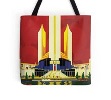 Chicago World's Fair 1933 Classic Vintage Poster Tote Bag