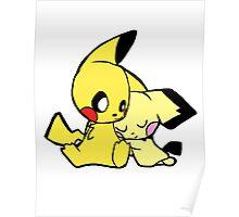 Pichu Pikachu Poster