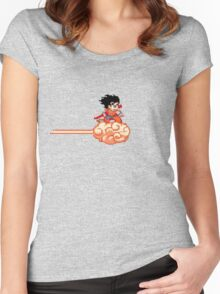 Flying Nimbus Women's Fitted Scoop T-Shirt