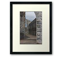 Jail Time Framed Print