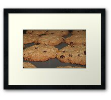 COOKIES! ME LOVE COOKIES! Framed Print