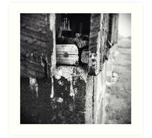 Escape Is Just A Fingertip Away Art Print