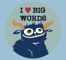 I *heart* Big Words Kids Clothes