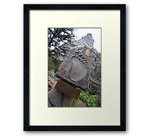 Disneyland Matterhorn Framed Print
