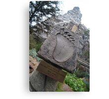 Disneyland Matterhorn Canvas Print