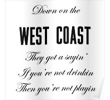 West Coast Poster