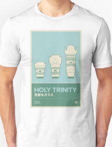 Holy Trinity - Nikon Zoom Lenses Unisex T-Shirt