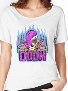 DOOM WARRIOR LOGO Women's Relaxed Fit T-Shirt