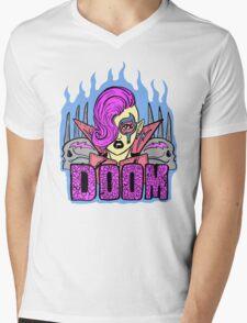 DOOM WARRIOR LOGO Mens V-Neck T-Shirt