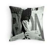 Poster Archaeology 8 Throw Pillow