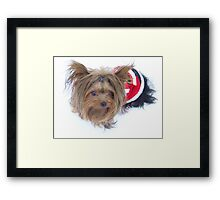 Baby Claus Framed Print