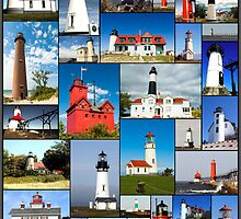 Lighthouses Lighthouses Lighthouses by Randall Scholten