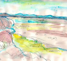 THE BIG ISLAND IN THE DISTANCE(C2013) by Paul Romanowski