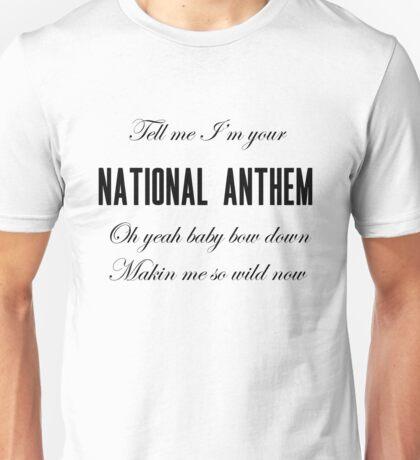 National Anthem Unisex T-Shirt