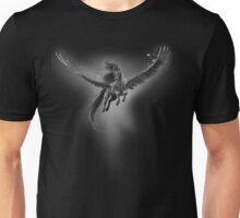 Black pegasus Unisex T-Shirt