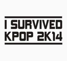 I SURVIVED KPOP 2K14 -  SM PINK Kids Clothes