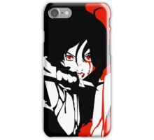 Blood for blood iPhone Case/Skin