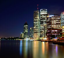 Brisbane CBD from Riverside by PBD-Photography