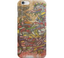 Old Graphite wall  iPhone Case/Skin