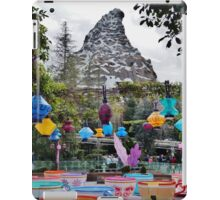 Teacups and Matterhorn iPad Case/Skin