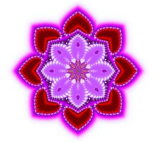 Jeweled Hearts by ArtByDrew