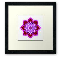 Jeweled Hearts Framed Print