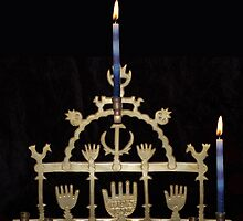 Happy Chanukah by Jawaher