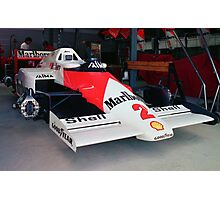 Prost's McLaren MP4 Photographic Print
