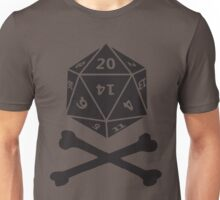 Role Playing d20 Pirate Unisex T-Shirt
