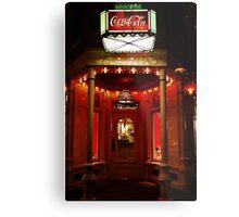 Coke Corner Metal Print