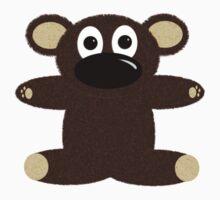 Teddy Bear Tee One Piece - Short Sleeve