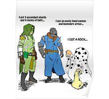 Destiny Humor (peanuts) color Poster