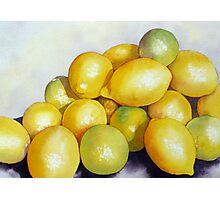 Lemon 'n' Lime Party Photographic Print