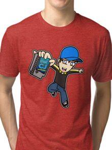 thatCJ Logo Tri-blend T-Shirt