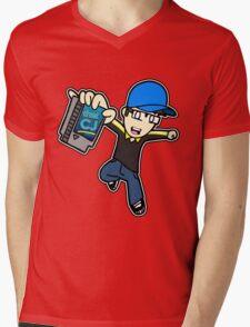 thatCJ Logo Mens V-Neck T-Shirt