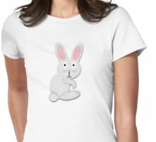 Mr. Rabbit Tee Womens Fitted T-Shirt