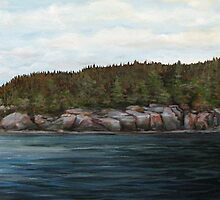 Mons Point - Port Munro - Marathon Ontario by loralea