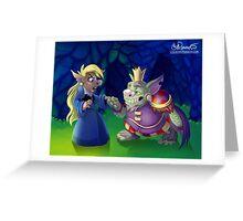 Troll Royalty Greeting Card