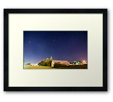 Travel Through Time Framed Print