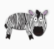 Zebra Tee One Piece - Long Sleeve