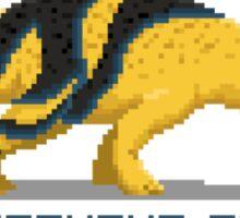 Pixel Centrosaurus Sticker