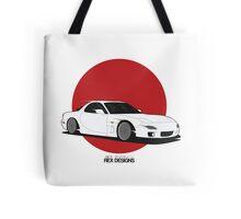 Mazda RX7 (Rising Sun) Tote Bag