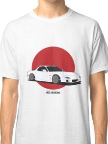 Mazda RX7 (Rising Sun) Classic T-Shirt