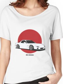 Mazda RX7 (Rising Sun) Women's Relaxed Fit T-Shirt